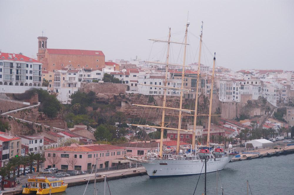 Maó, ports de Balears.
