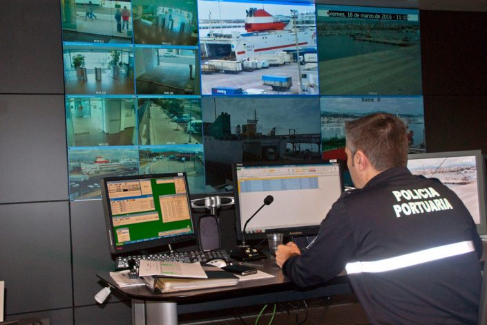 Policia portuaria, ports de Balears.