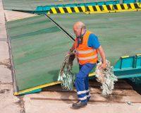 Trabajador, ports de Balears.