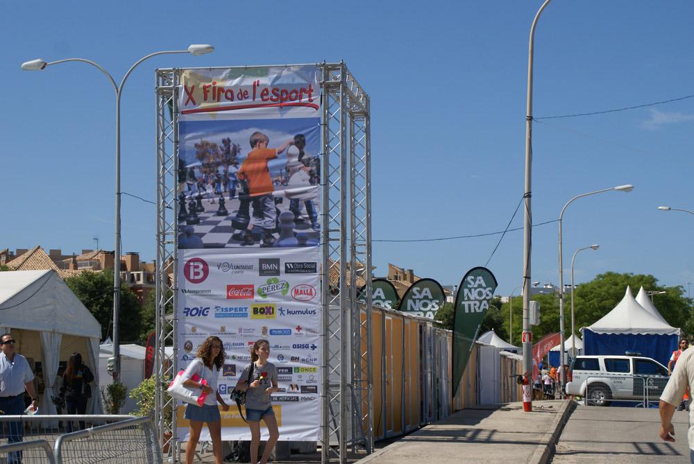 X-Fira-de-l´esport_1_mjbolboreta.es,Son Moix,palacio municipal de deportes,fiesta del deporte 2014, actividad deportiva gratuita, ocio, Palma de Mallorca
