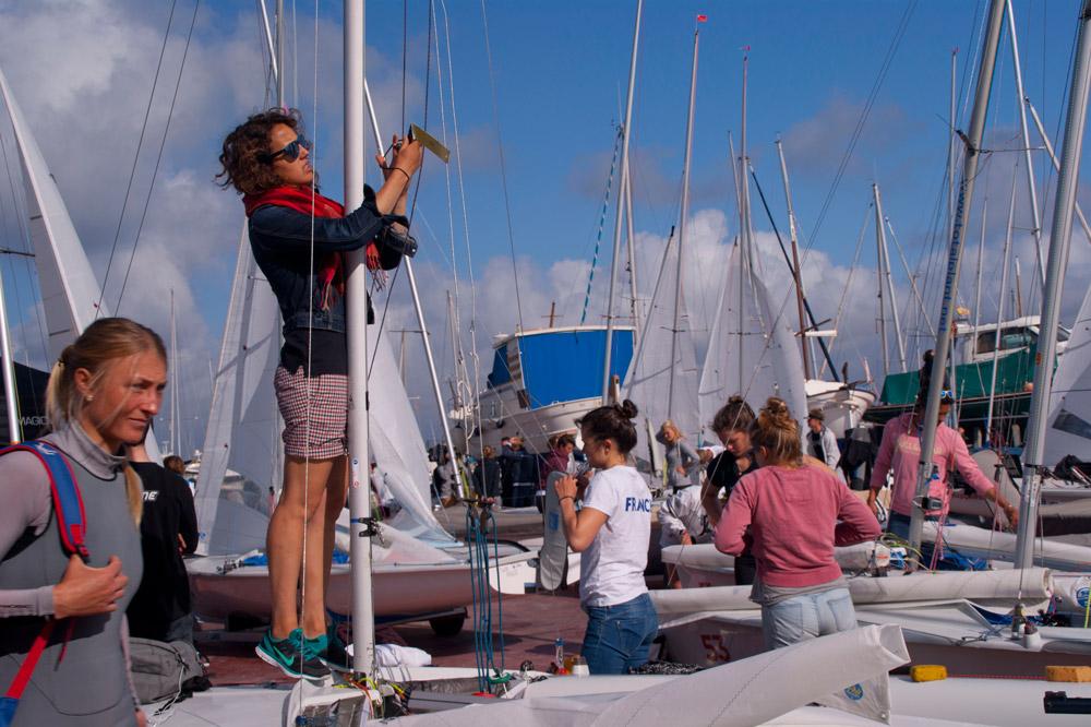 European 470,Club náutico Arenal,Palma. mjbolboreta.es