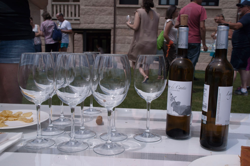 Cambados, ruta do viño